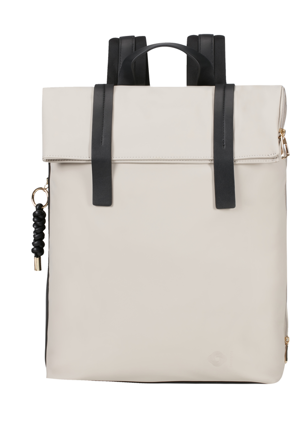 Samsonite Smoothy Backpack + Flap  14.1inch Light grey