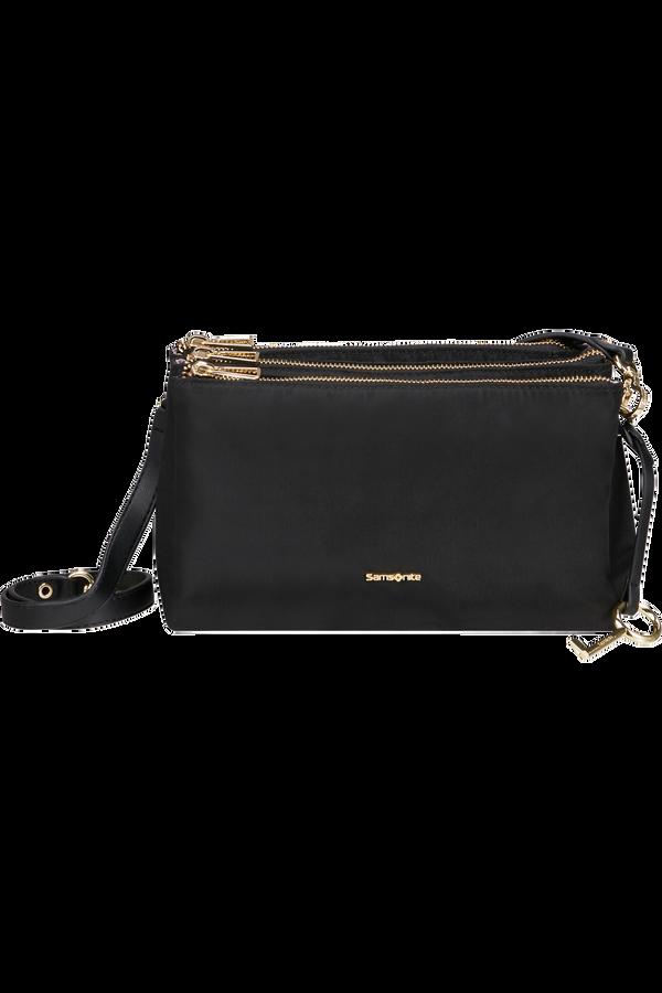Samsonite Skyler Pro Horizontal Shoulder Bag 3 Comp S  Nero