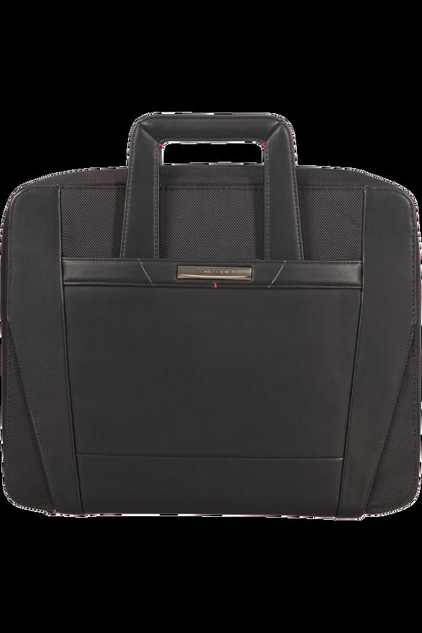 Samsonite Stationery Pro-Dlx 5 Zip Folder A4 Ret H+Det B  Nero