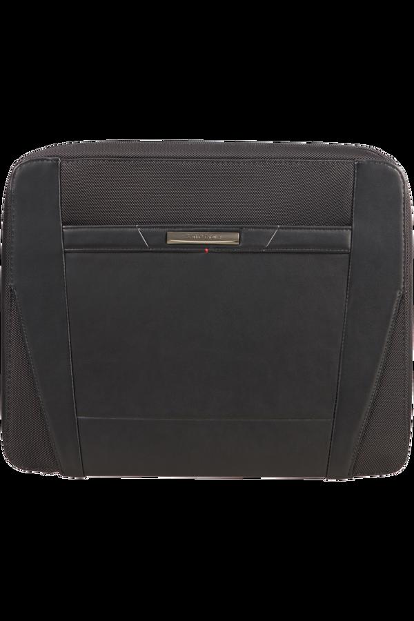 Samsonite Stationery Pro-Dlx 5 Zip Folder A4 Det B  Nero