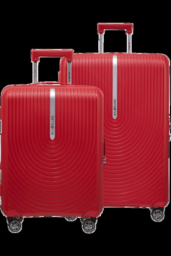 Samsonite Hi-Fi 2 PC Set A  Rosso