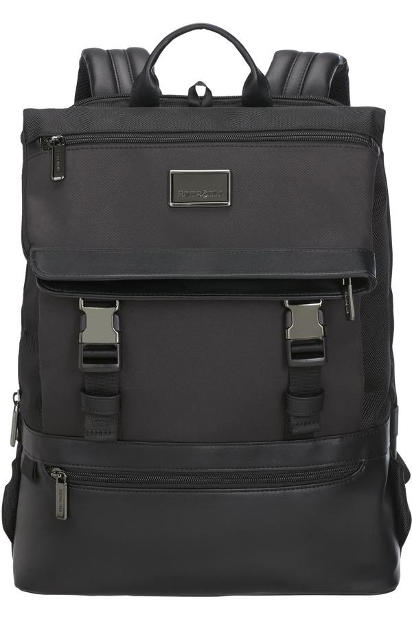Samsonite Waymore Laptop Backpack Flap Slim  15.6inch Nero