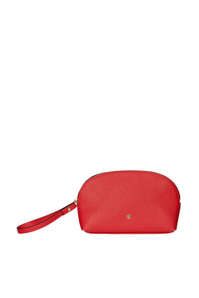 Wavy Slg Cosmetic Pouch