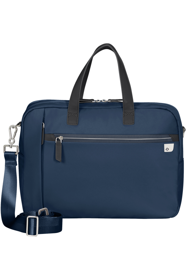 Samsonite Eco Wave Bailhandle 2 Comp  15.6inch Midnight Blue