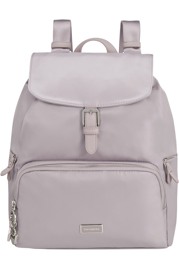 Samsonite Karissa 2.0 Backpack 3 Pockets 1 Buckle  PEARL LILAC