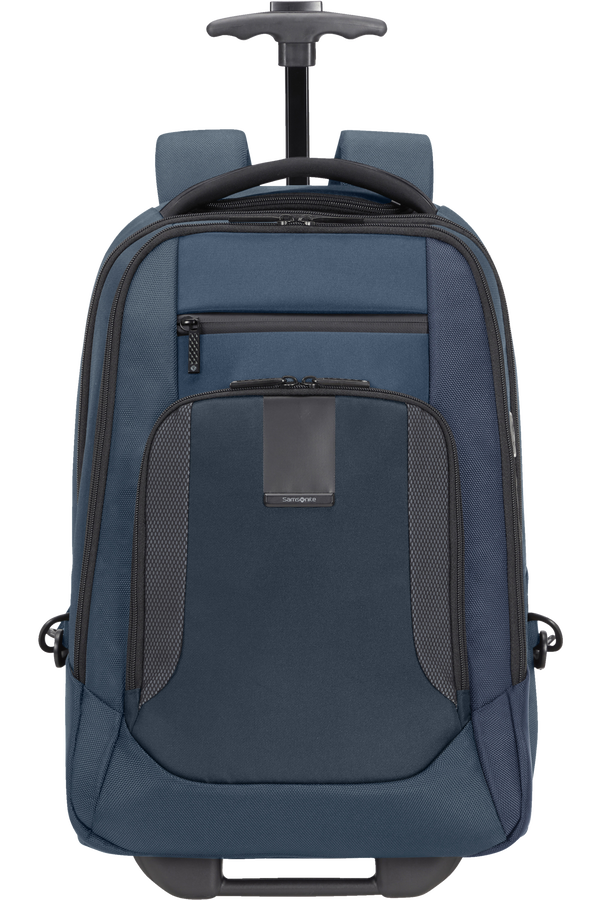 Samsonite Cityscape Evo Laptop Backpack with Wheels  15.6inch Blu