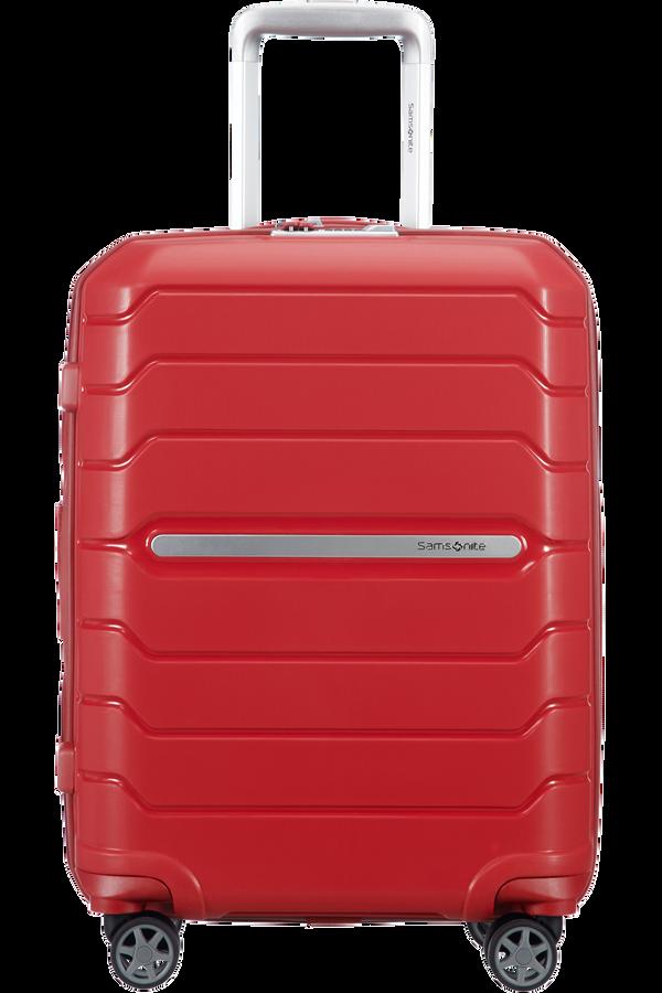 Samsonite Flux Spinner Expandable 55cm  Rosso