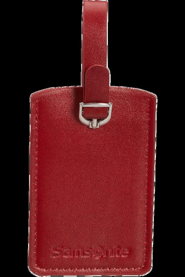 Samsonite Global Ta Rectangle Luggage Tag x2 Rosso