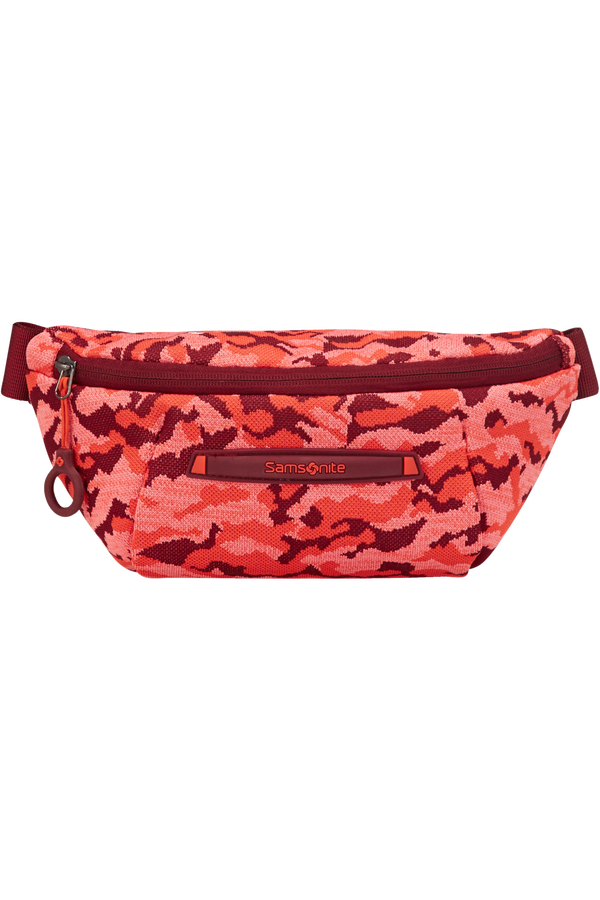 Samsonite Neoknit Belt Bag  Fluo Red Camo