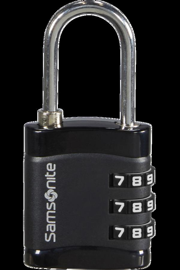Samsonite Global Ta Combilock 3 dial light Nero