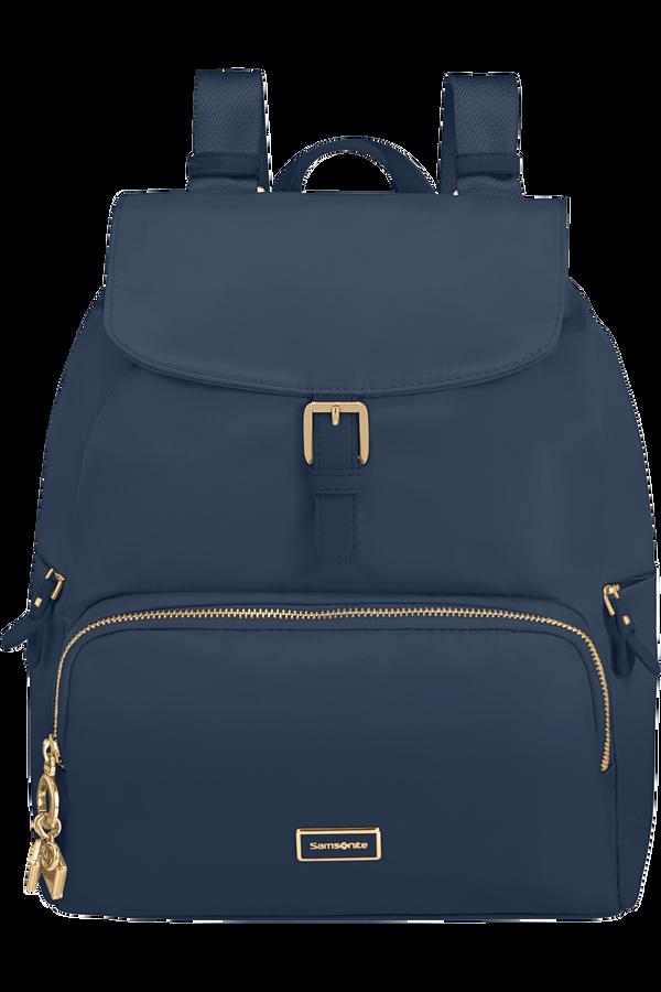 Samsonite Karissa 2.0 Backpack 3 Pockets 1 Buckle  Midnight Blue
