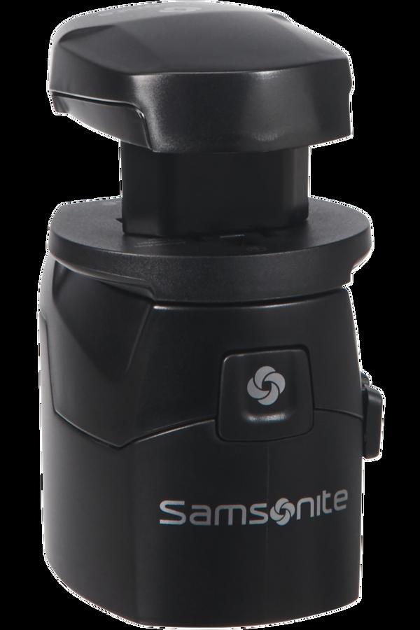 Samsonite Global Ta Worldwide Adapter + USB Nero