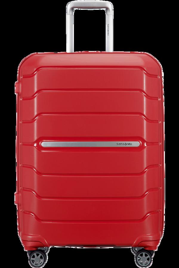 Samsonite Flux Spinner Expandable 68cm  Rosso