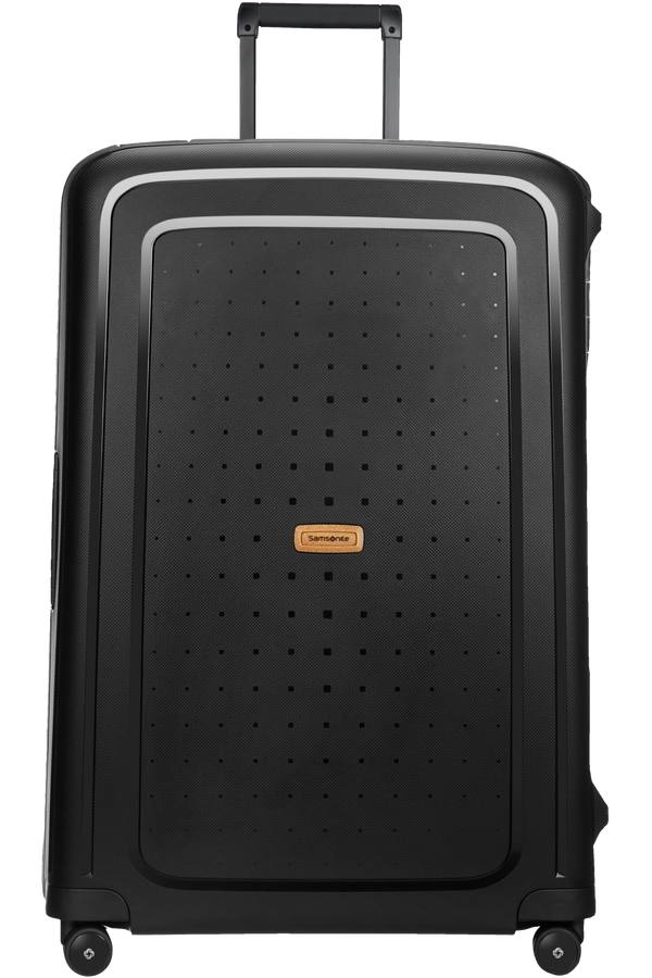 Samsonite S'cure Eco Spinner 81cm  Eco Black
