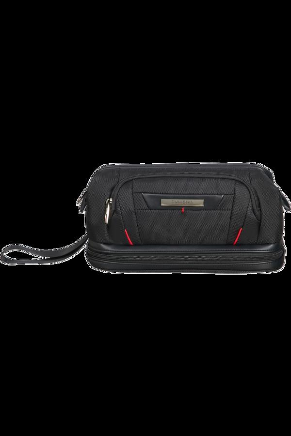 Samsonite Pro-Dlx 5 C. Cases Toiletry Bag Large Opening  Nero