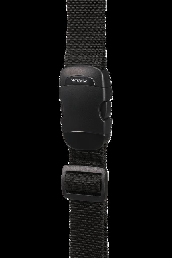 Samsonite Global Ta Luggage Strap 38mm Nero