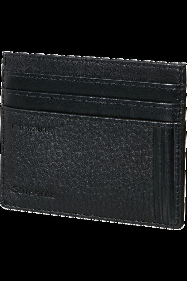 Samsonite Double Leather Slg 732 - 6CC H S  Nero