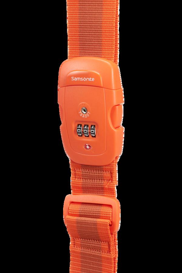 Samsonite Global Ta Luggage Strap/TSA Lock Arancione