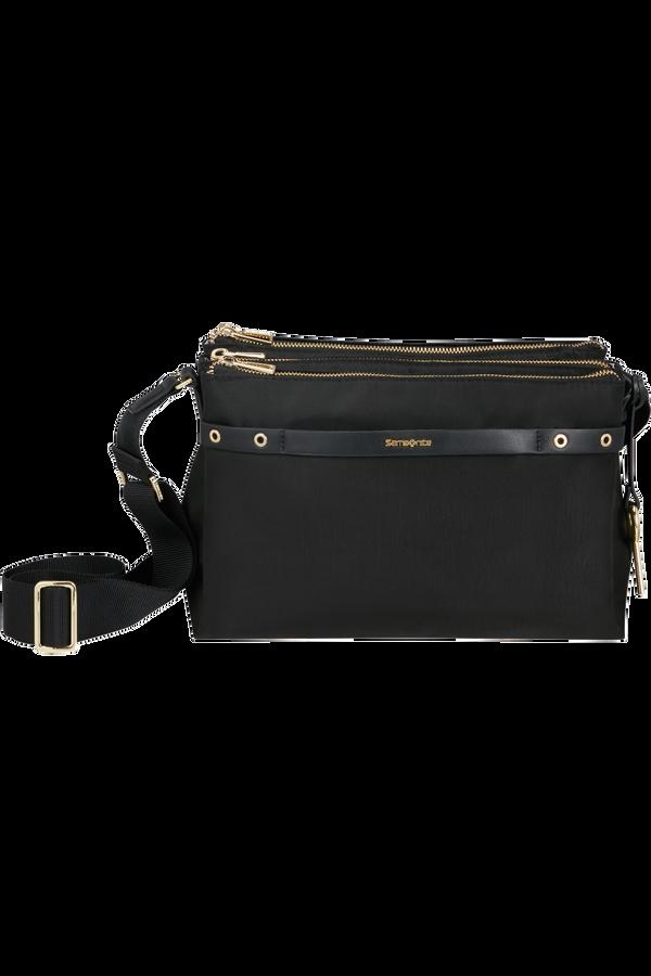 Samsonite Skyler Pro Travel Shoulder Bag  Nero