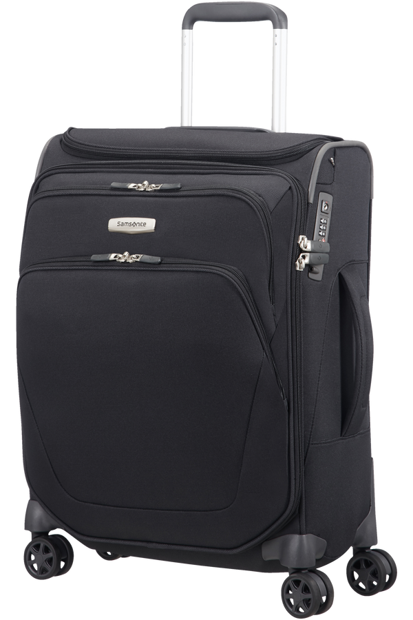 Samsonite Spark SNG Spinner Toppocket 55cm  Nero