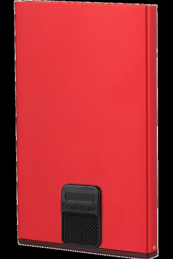 Samsonite Alu Fit 201 - Slide-up Case  Rosso