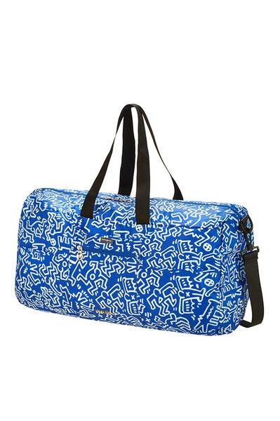 Travel Accessories Borsone Graffiti Blue