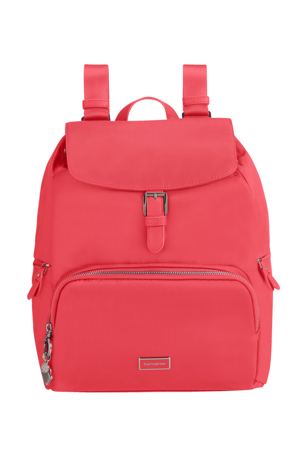 Samsonite Karissa 2.0 Backpack 3 Pockets 1 Buckle  Raspberry Rose