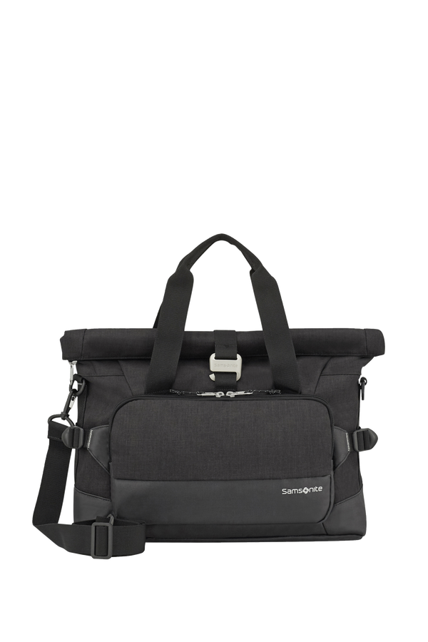 Samsonite Ziproll Laptop Shoulder Bag  Nero