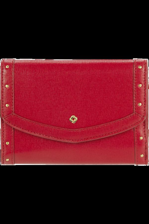 Samsonite Elizabeth I Slg Wallet M  Scarlet Red