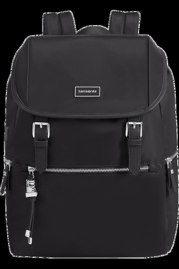 Samsonite Karissa Biz Backpack 14.1'+Flap W/Usb  Nero