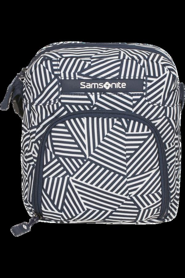 Samsonite Rewind Crossover  Navy Blue Stripes