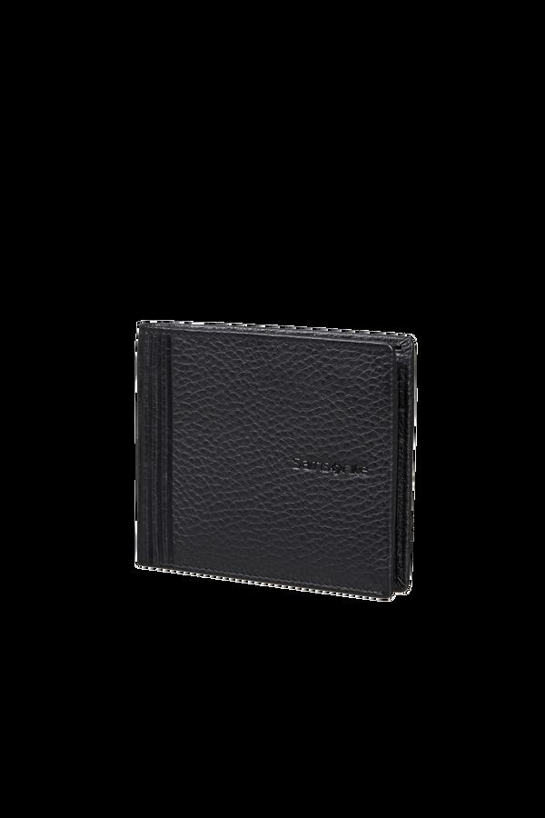 Samsonite Double Leather Slg 001 - B S 6CC+2C  Nero