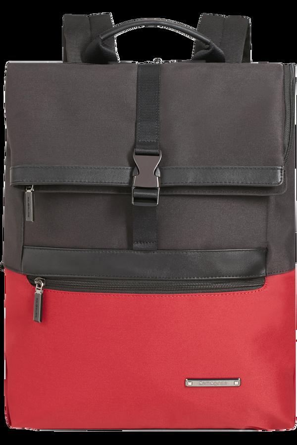Samsonite Asterism Laptop backpack slim + Flap  15.6inch Deep Red