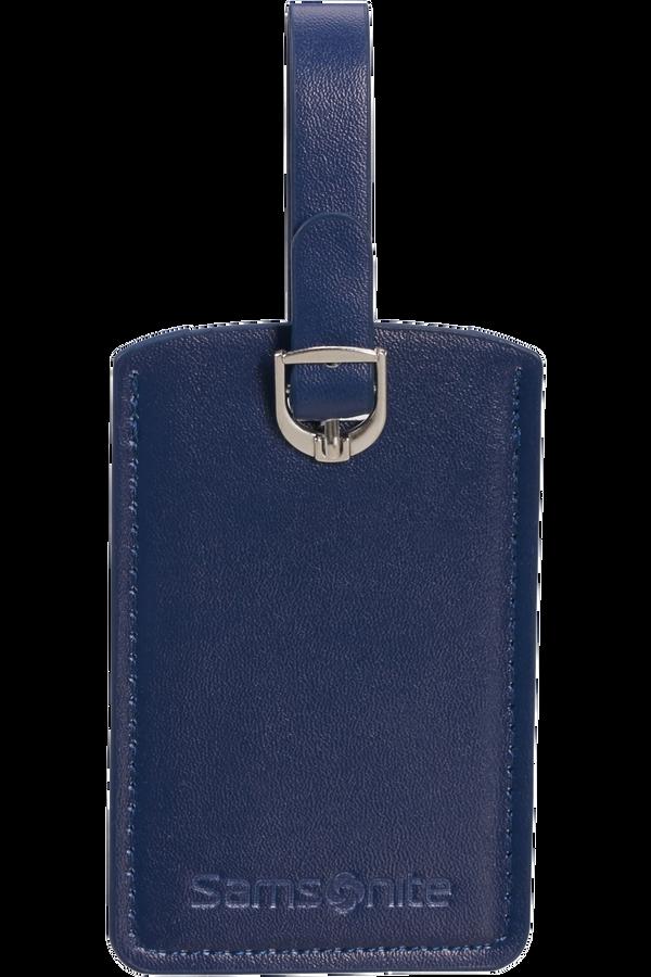 Samsonite Global Ta Rectangle Luggage Tag x2 Midnight Blue