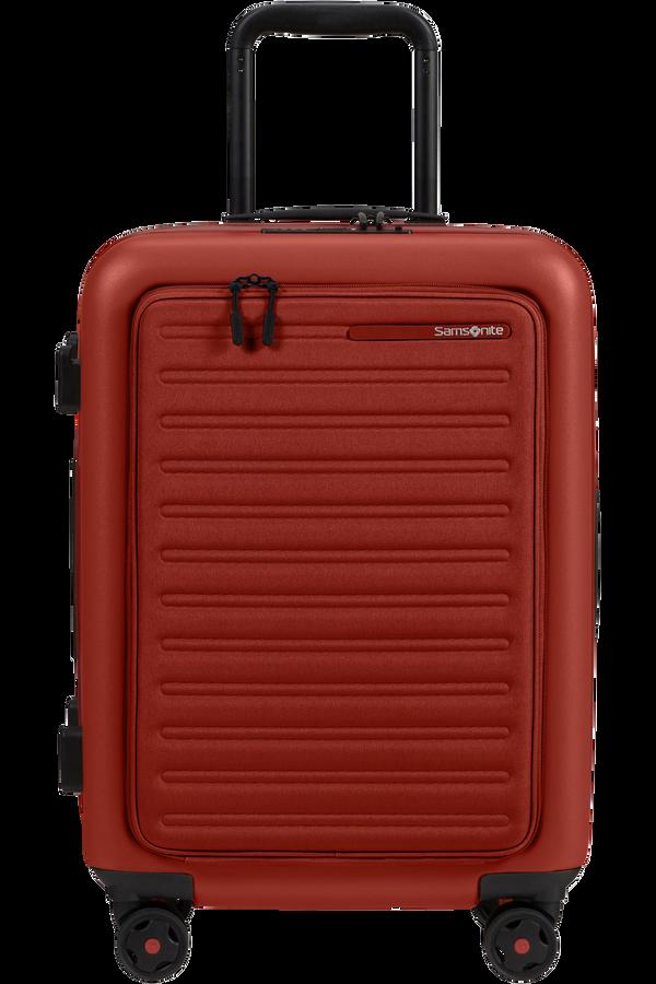 Samsonite Stackd Spinner Expandable Easy Access 55cm  Rosso