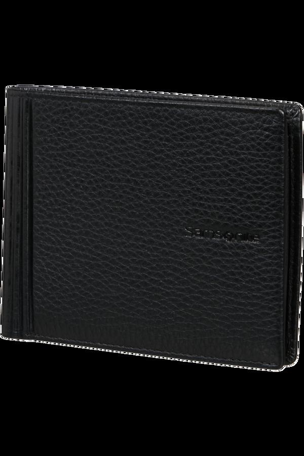 Samsonite Double Leather Slg 015 - B 4CC+2C+C  Nero