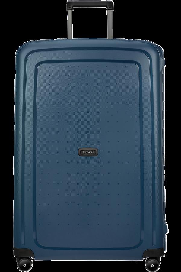 Samsonite S'cure Eco Spinner Post Consumer 81cm  Navy Blue