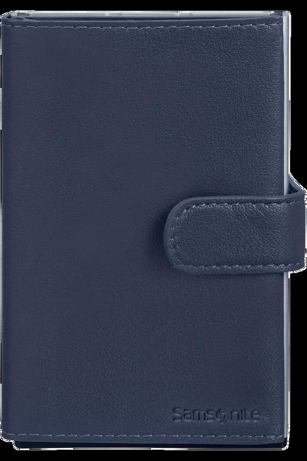 Samsonite Alu Fit 202 - Slide-up Wallet  Blu