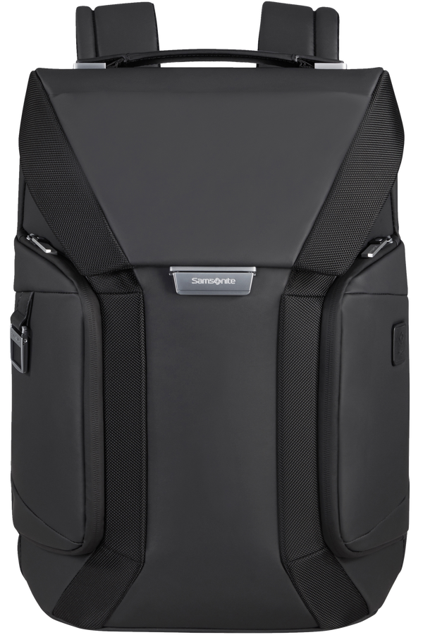 Samsonite Alu Biz Laptop Backpack Flap  15.6inch Nero