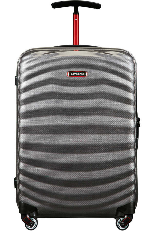 Samsonite Lite-Shock Sport Spinner 55cm  Eclipse Grey/Red