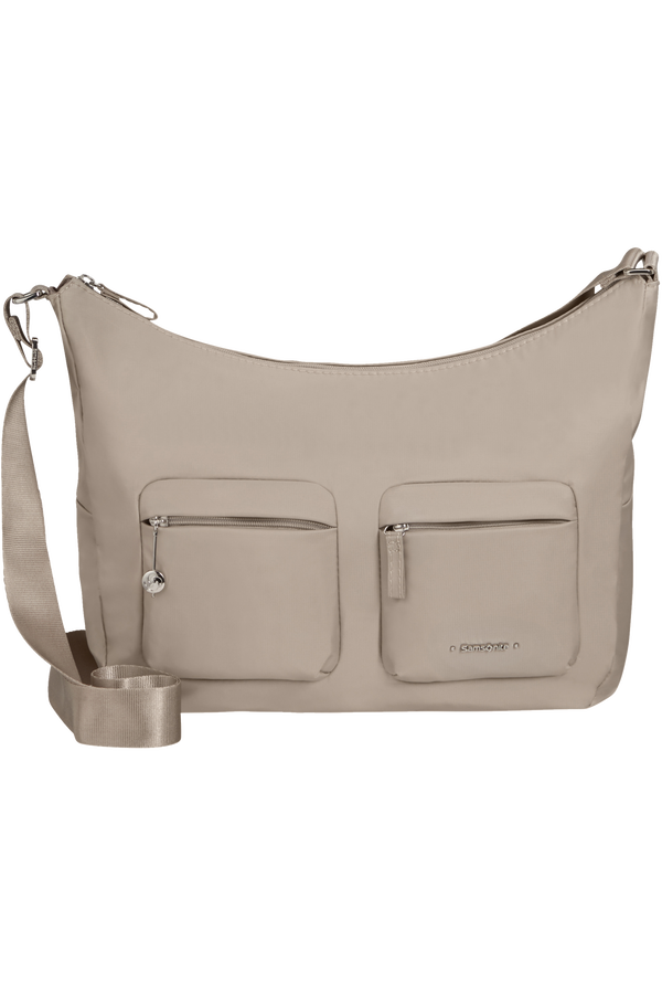 Samsonite Move 3.0 Shoulder Bag + 2 Pockets M  Light grey
