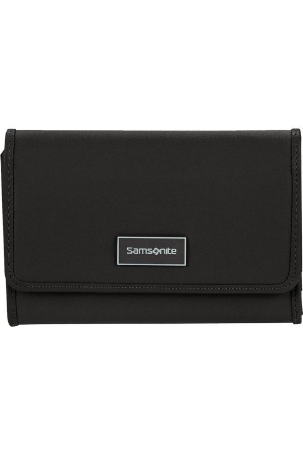 Samsonite Karissa Slg Wallet 12CC+ZIP EXT M  Nero