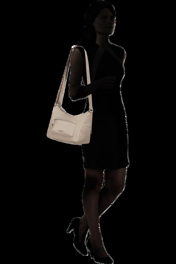 Samsonite Move 3.0 Shoulder Bag + 1 Pocket S  Light grey