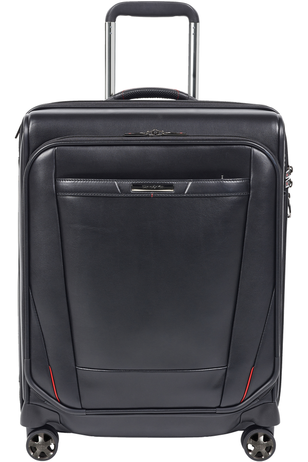Samsonite Pro-Dlx 5 Lth Spinner Expandable 55cm  Nero
