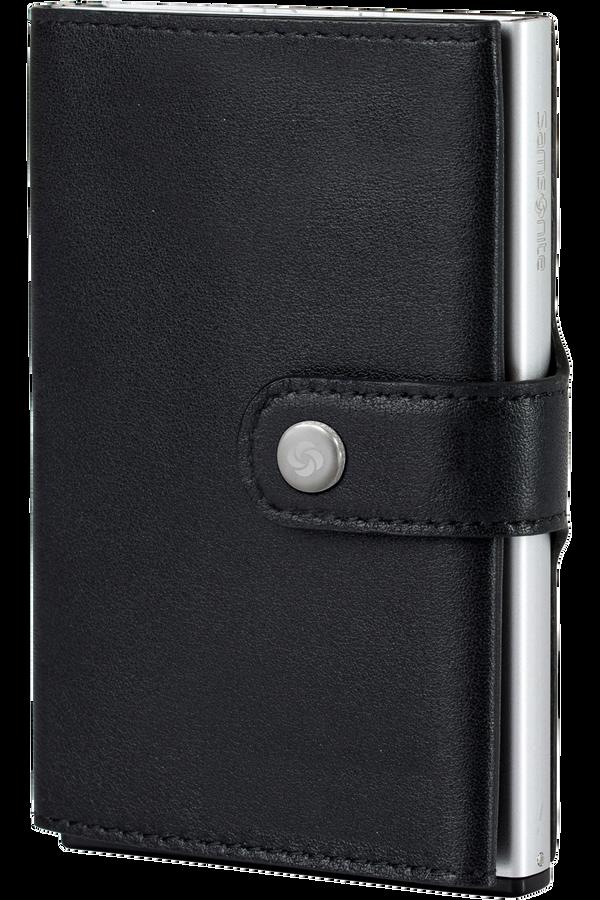 Samsonite Alu Fit 202 - Slide-up Wallet  Nero