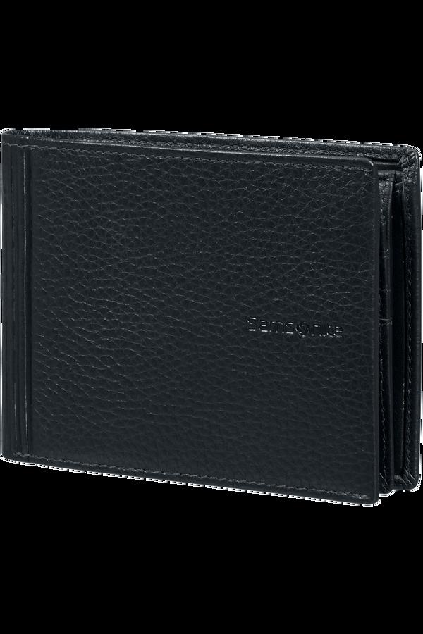 Samsonite Double Leather Slg 007 - B 7CC+VFL+C+2C+W  Nero