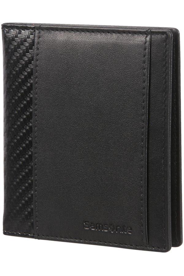 Samsonite S-Derry 2 Slg 728 - 4+2CC H+Money Clip  Nero