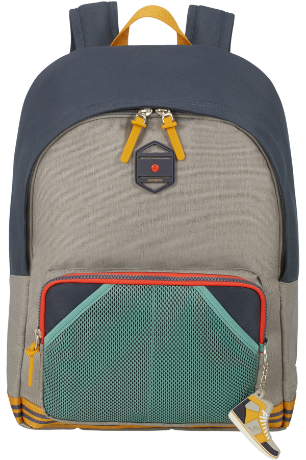 Samsonite Sam School Spirit Backpack L  American Grey Denim
