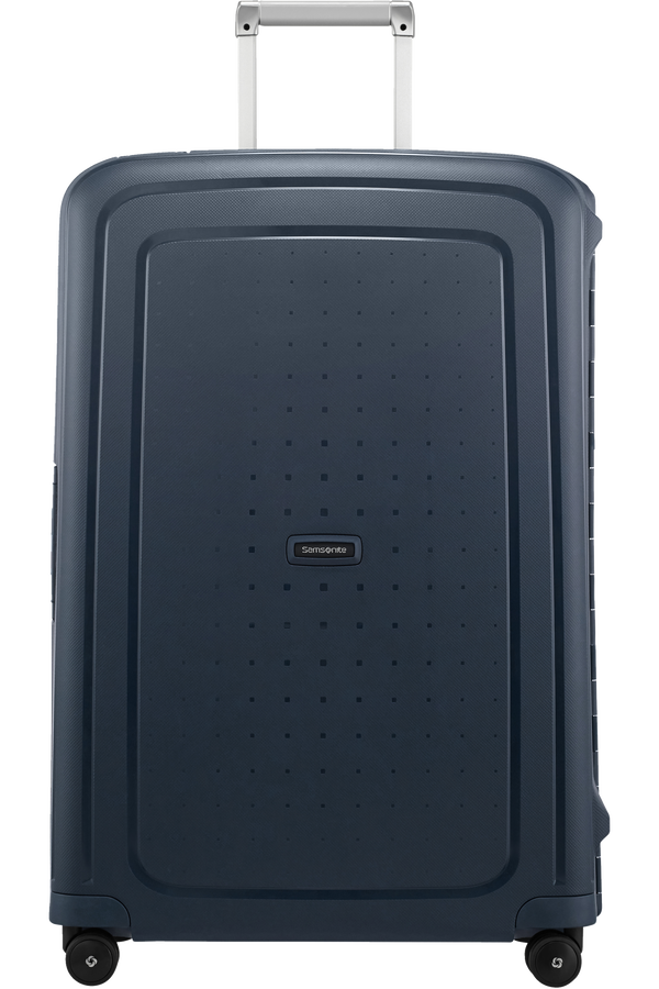 Samsonite S'Cure Spinner 75cm  Navy Blue Stripes