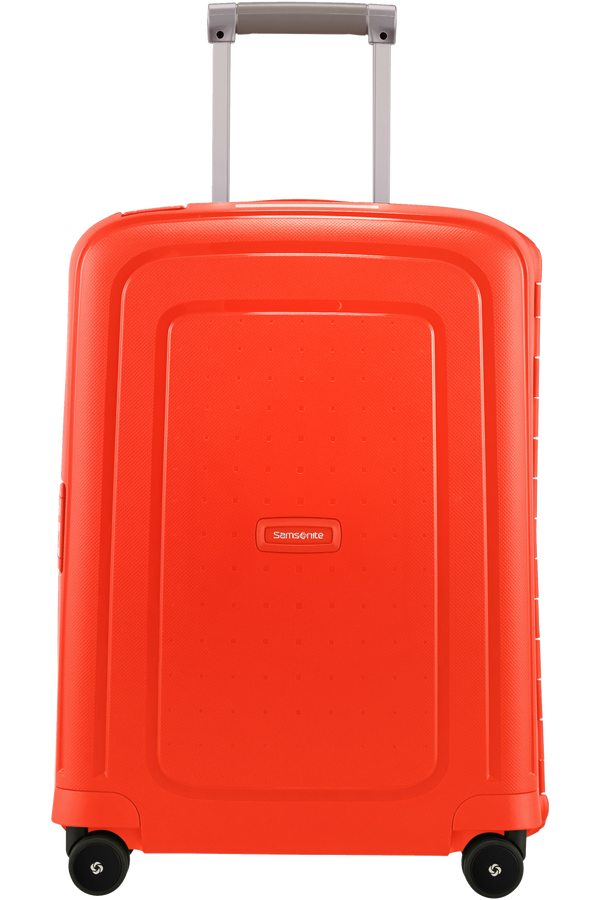 Samsonite S'Cure Spinner 55cm  Fluo Red Capri